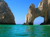 stock photo of cortez  - El Arco near Los Cabos at the southern tip of Baja California Mexico
