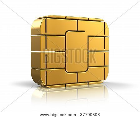 SIM card or credit card concept