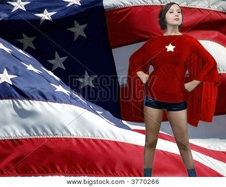 American Girl As Superheroine