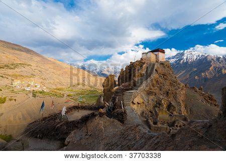 Watchtower New Monastery Mountain Wide