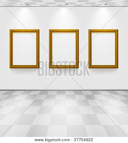 Room With Three Frames
