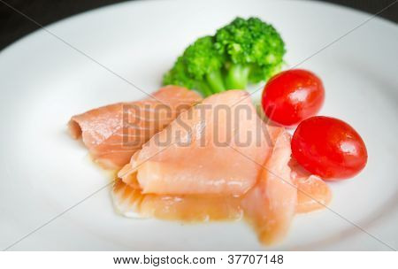 Salmon And Vegetable