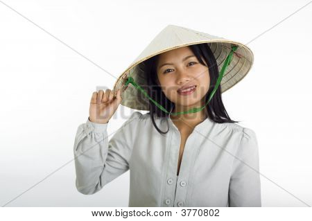 Asian Girl Vietnamese Style