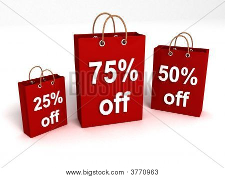 Shopping Bags With Rebate Offers