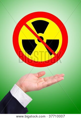 Conceptual Image, Caring For Radioactive Usage.