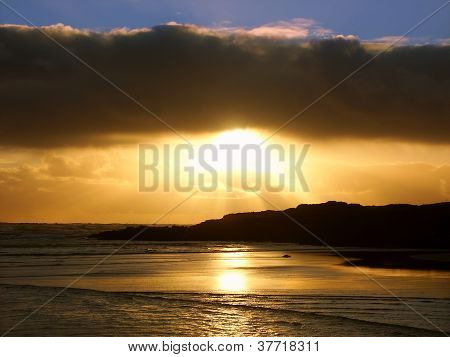 Sunset In Warrnambool Australia