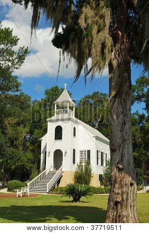 Old church in St. Marys Georgia