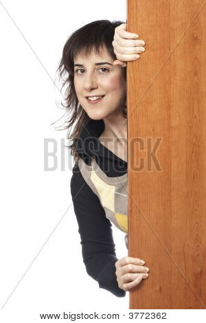 Curious Casual Woman
