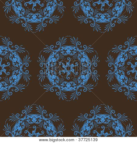 Floral pattern for a seamless pattern