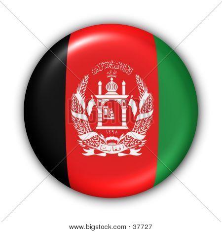 Flag Button - Afghanistan