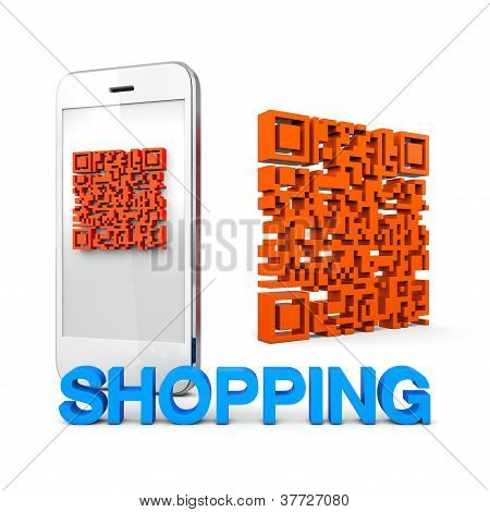 Qrcode Mobile Phone Shopping