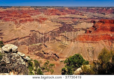 Grand Canyon National Park Landscape View