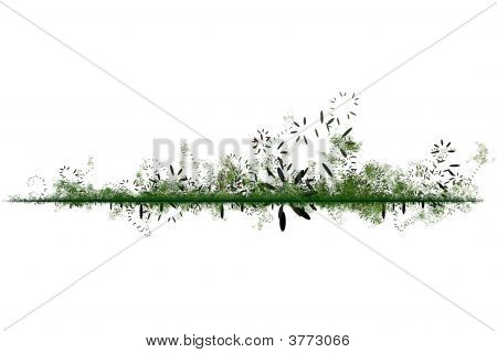 Green Environmental Friendly Abstract Background