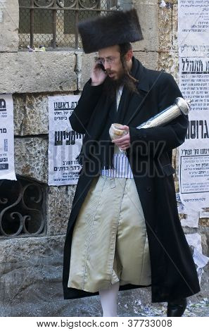 Purim In Mea Shearim