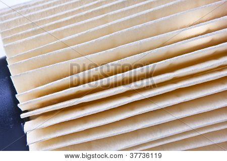 Close-up Of Car Air Filter