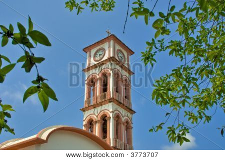 Mexican Clock Tower