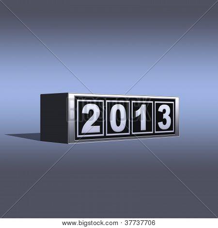 2013 neues Jahr.