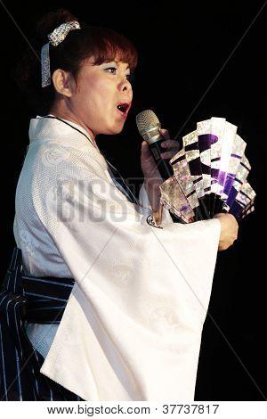 Japanese Enka show