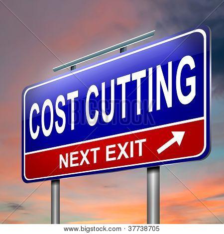 Concepto de costo de la corte.