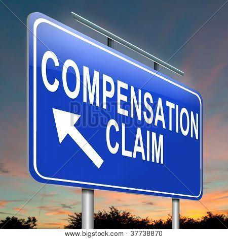Reclamación de compensación.