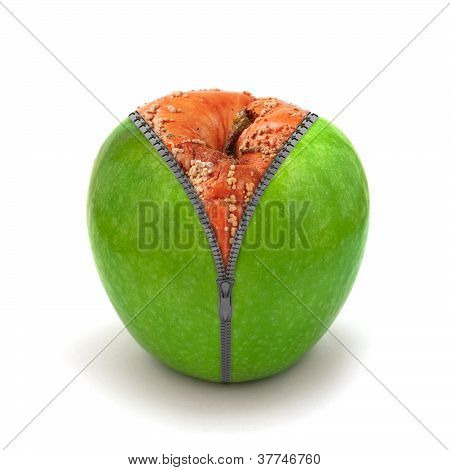Rotten Apple In New Skin