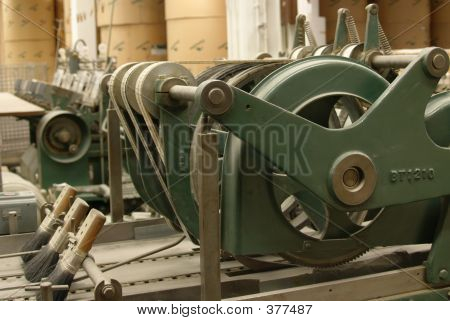 Old Stitching Machine, Side View
