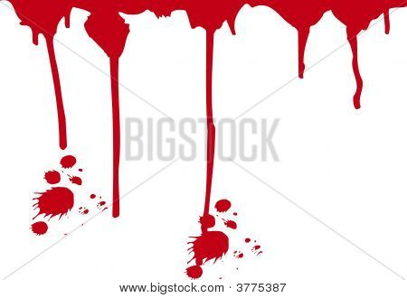 Murder Blood Splatter