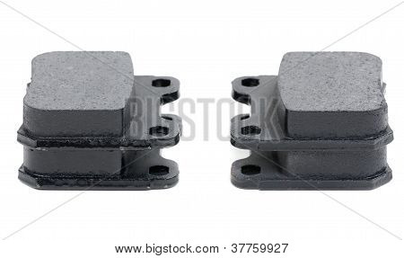 Isolated Shot Of Disk Brake Parts
