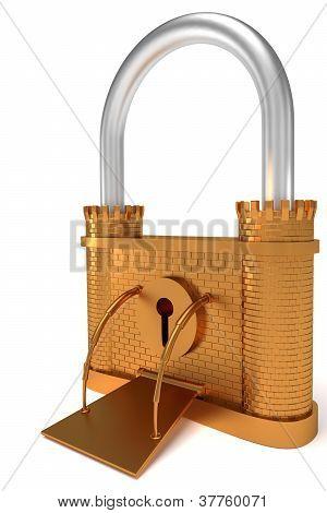 Bronze Lock