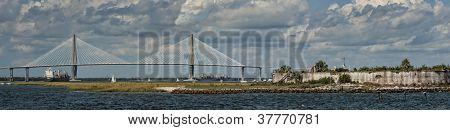 South Carolina Cooper River Cable-stay Bridge