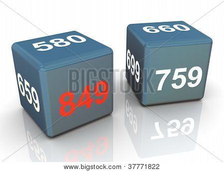 Dados de Pontuação de crédito 3D