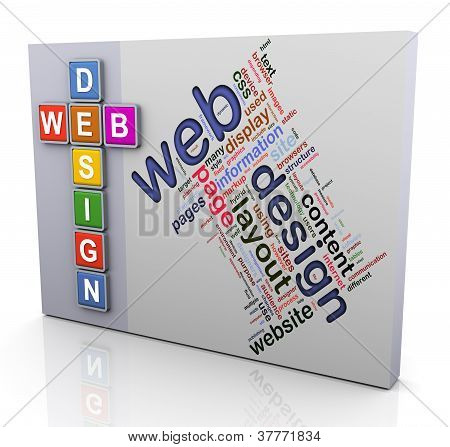 Crossword Of Web Design