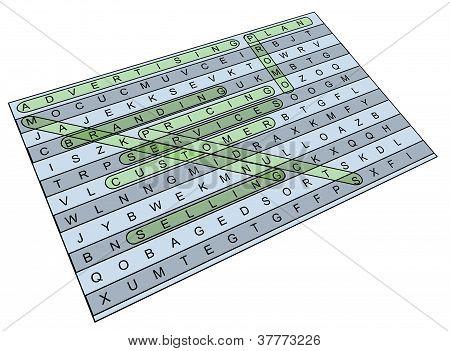 Crossword Wordsearch Marketing