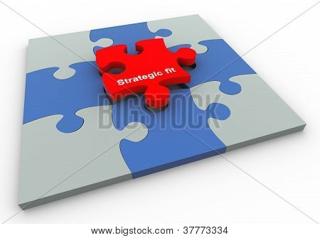 Unique puzzle piece