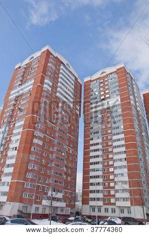 moderne hohe Aufstieg Gebäude