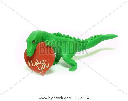 Dinosaur In Love