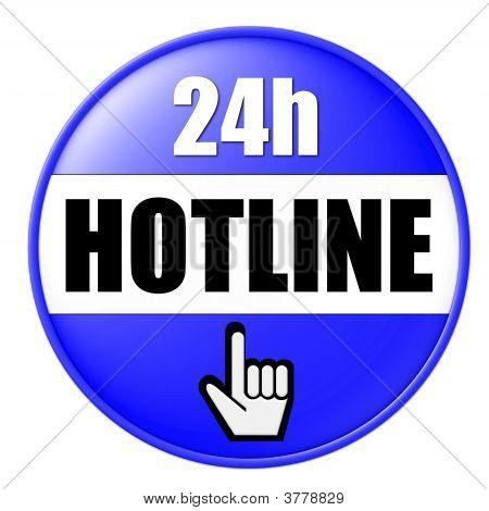 24 Hotline Blue