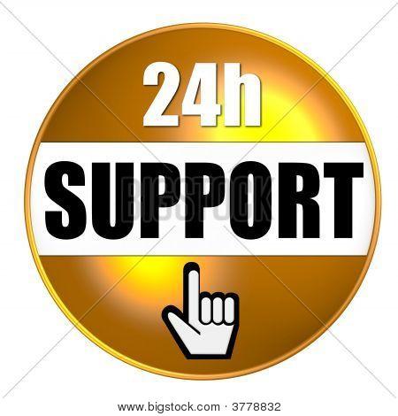 24 Support Gelb