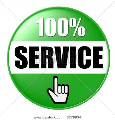 100 Service Green