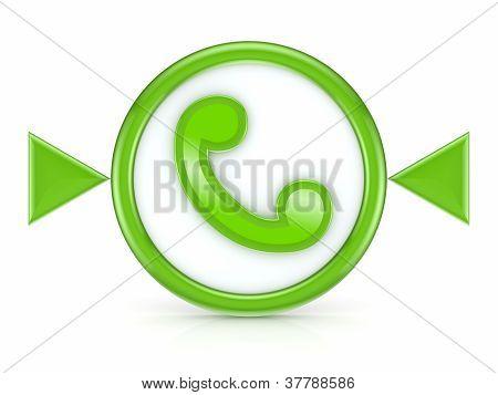 Telephone icon.