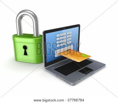 Safe payments concept.