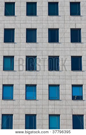 Windows Of The Multi-storey Building