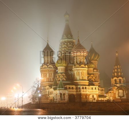 St. Basil\'S At Night