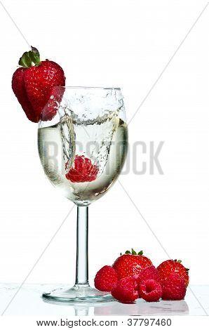 Wine Glass Splash