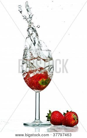 Wine Glass Splash