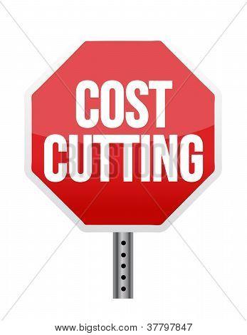 Cost Cutting Illustration Design