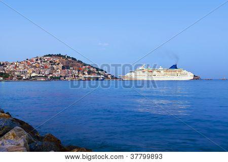 Morning View Of Kusadasi Turkey