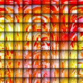 Abstract Digital Art - Tiles of Playfulness