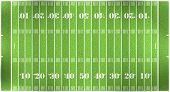 image of football field  - illustration of a football field aerial view - JPG