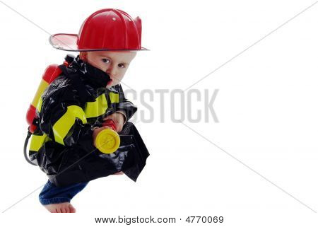 Little Fire Fighter Toddler